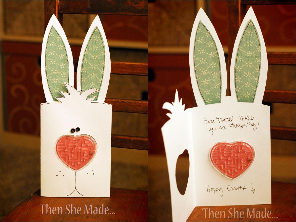 Фото пятницей, открытка в виде зайца