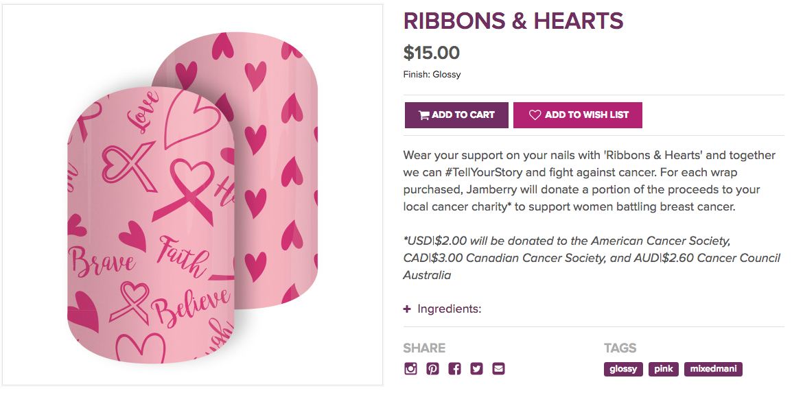 Jamberry Commitment To Charity Collection Review - ListingDock