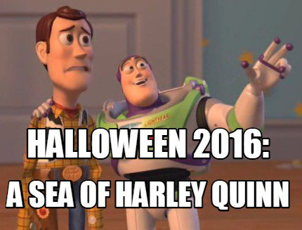 halloween harley quinn costume meme(2) funny amazing hilarious halloween pumpkins and meme's for a good