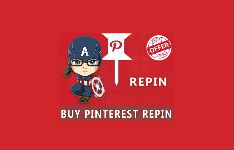 Add 200 Pinterest Repin from Real user to Boost Social Reach