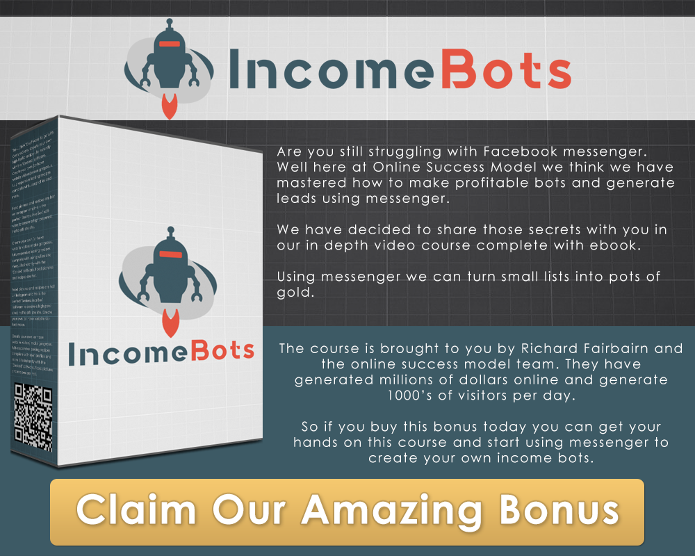 [PLR] Income Bots - Learn How to Use Bots on Your Social Media Success
