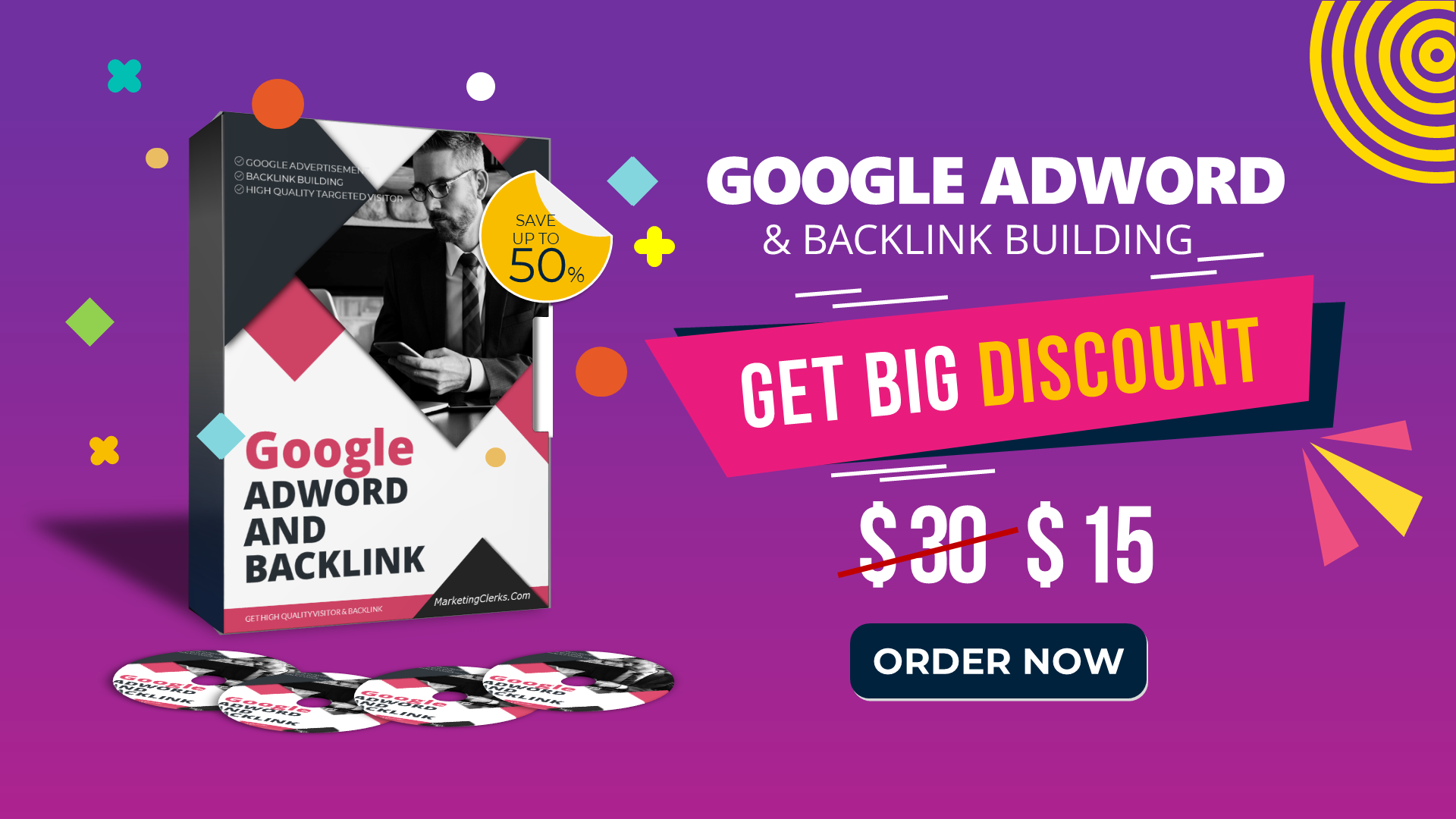 We will Advertise Your Website Using Google Ads + Backlink Building - Full Report