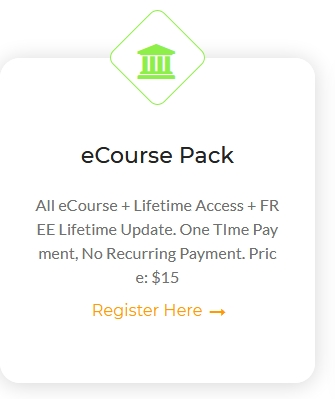 eCourse Membership About Any Topics - Lifetime Access and Lifetime Update