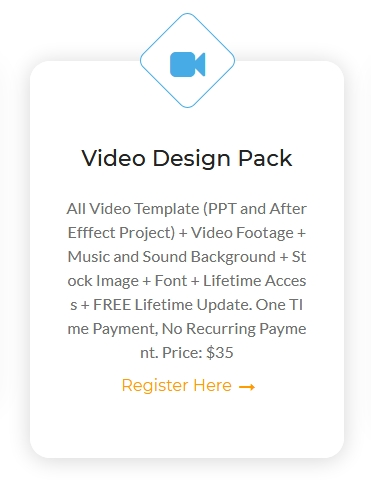Video Design Pack Membership - Lifetime Access and FREE Lifetime Update