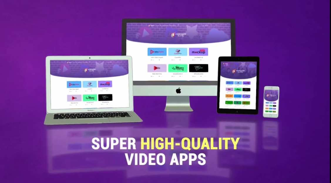 LIMITED For 100 Buyer - Bundling 8 High Quality Video Apps For One Price