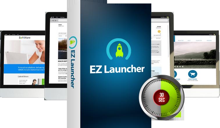 WP EZ Launcher - Launch Your WordPress in ShortTime [PLR]