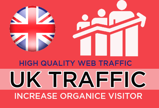 UK Unlimited Niche Targeted Real Organic Visitors Traffic for 30 DAYS