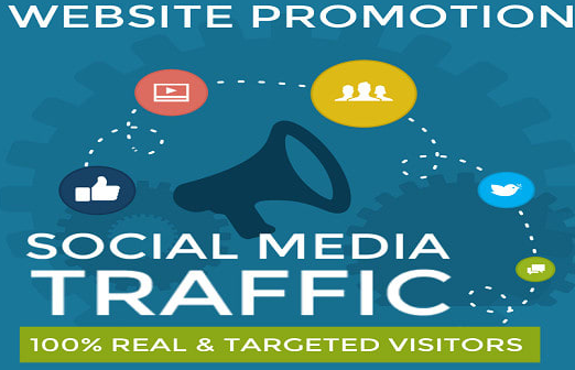 30 days UNLIMITED Organic Social Media Traffics to Your Site or Any Link