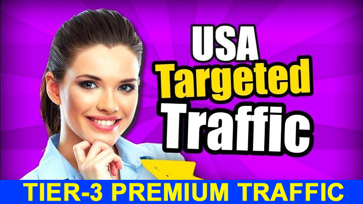 Tier-3 PREMIUM Fully Safe Unlimited Organic USA Visitors Traffics Daily for 30 Days