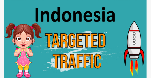 Unlimited Real and Organic 30 Days Indonesia Targeted Visitors Traffic