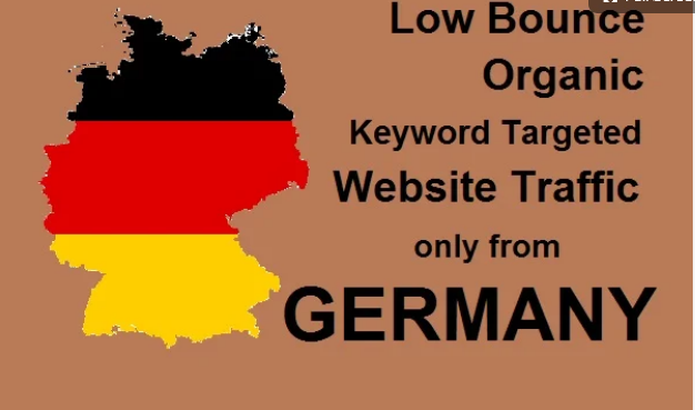 THREE MONTH Organic keyword targeted low bounce germany web traffic