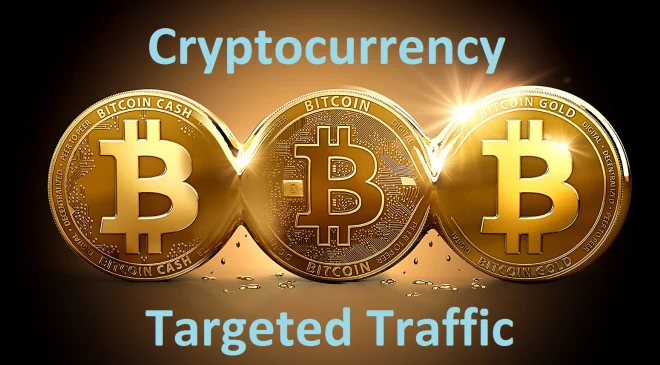 2 Month USA Targeted Unlimited Organic Crypto Currency Bitcoin Website Traffic