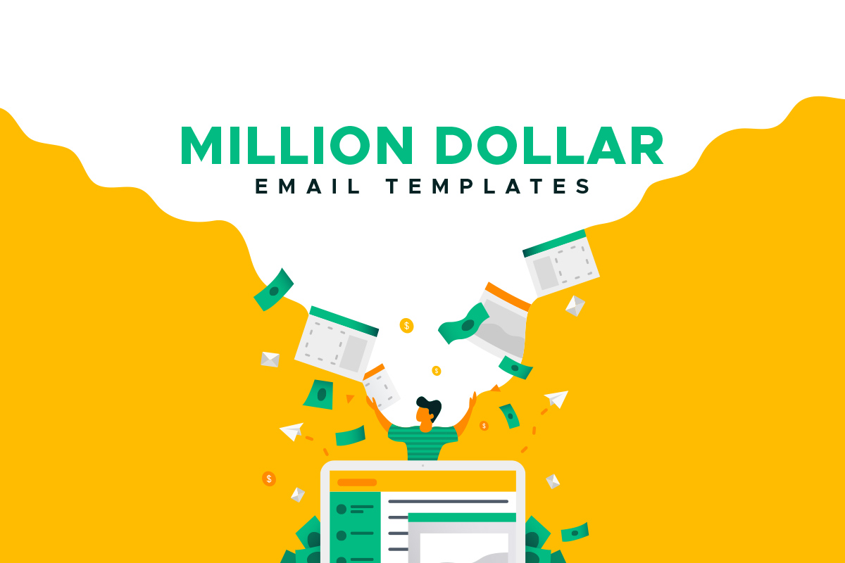 million dollar email templates