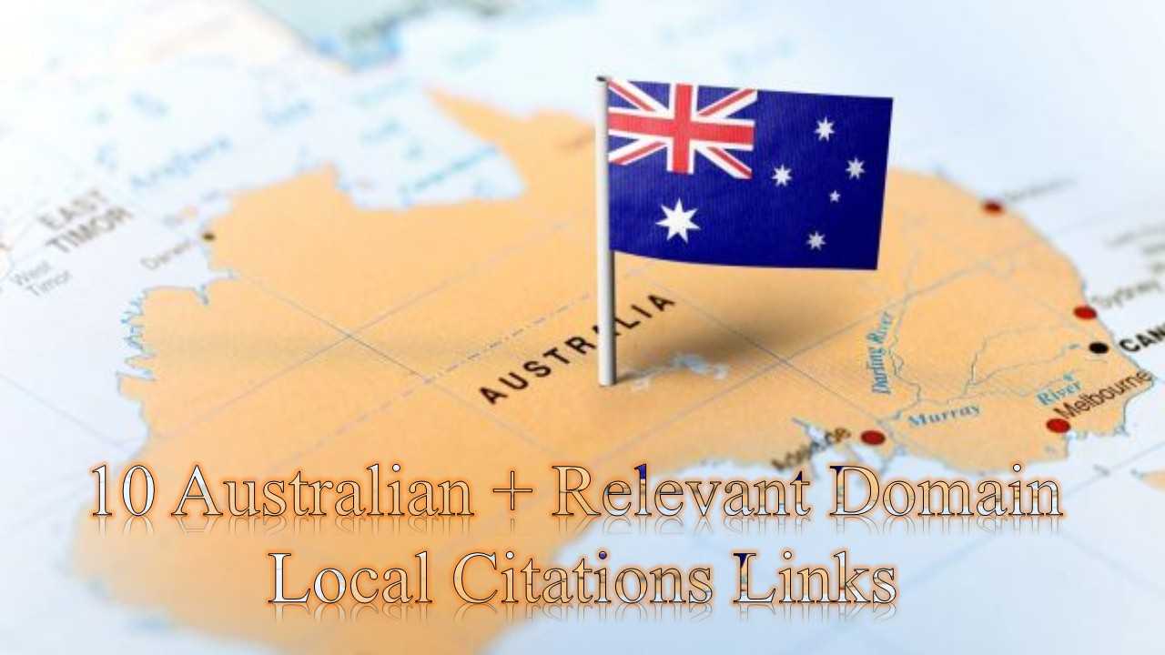 I will Create High Quality 10 Australian Citation Links Manually