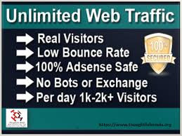 12000 Organic real traffic visitors with low bounce rate