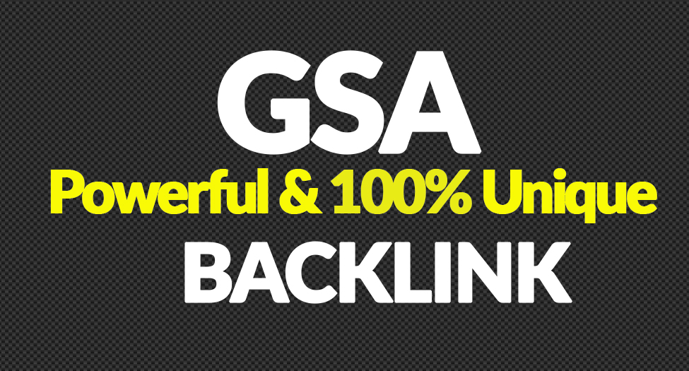 Create 400,000 Authority Quality GSA SER Verified Backlinks