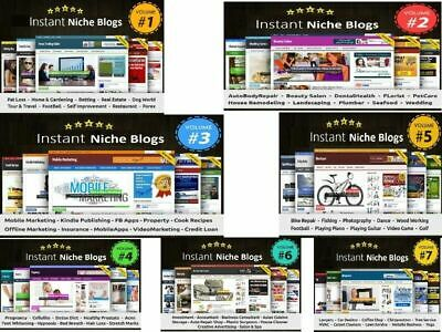 70 Ready Made Niche Blogs - Make Money