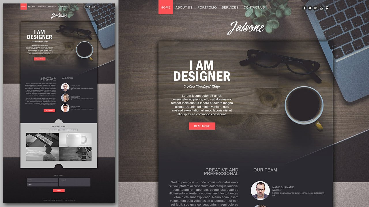 Professional WordPress Website Design within 8 hour