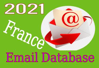 Valid Email Database France - 2021 update