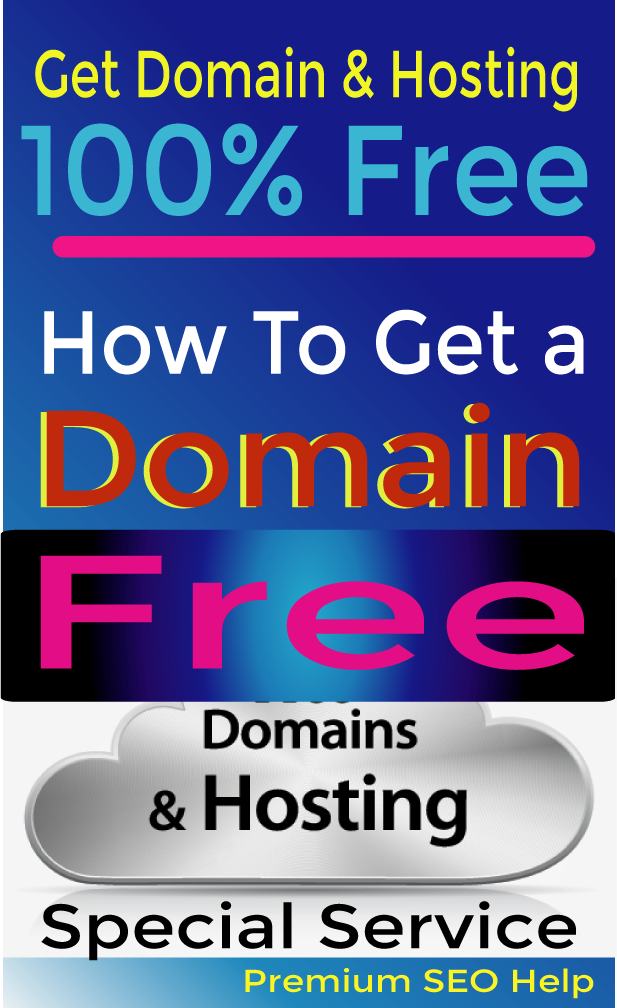 How to get Dot com Domain and web Hosting without spend money