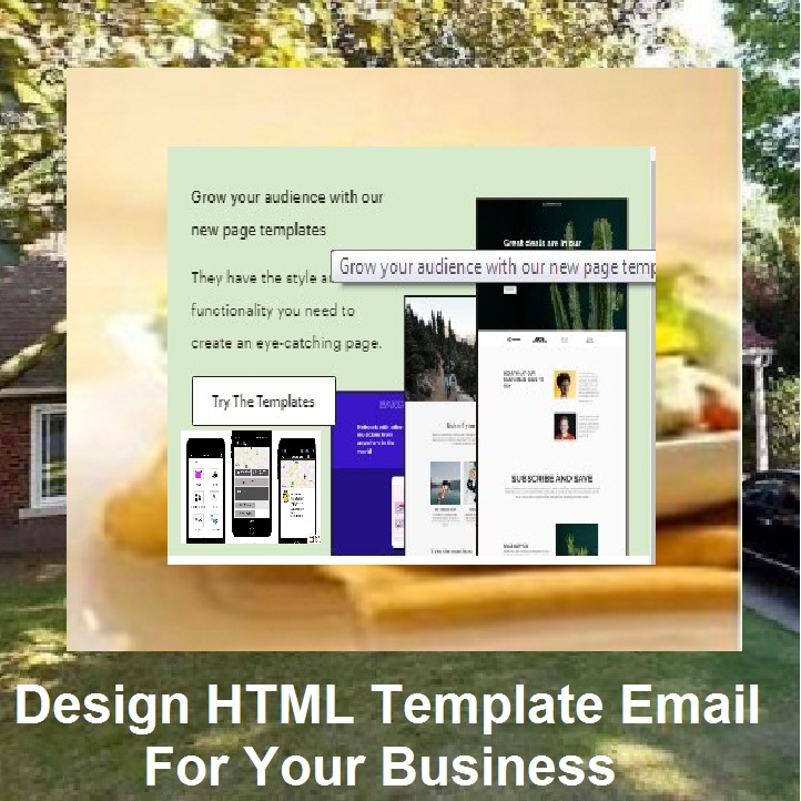 Design Attractive 3 Templates HTML For Your Business Different 3 Styles and Email Marketing