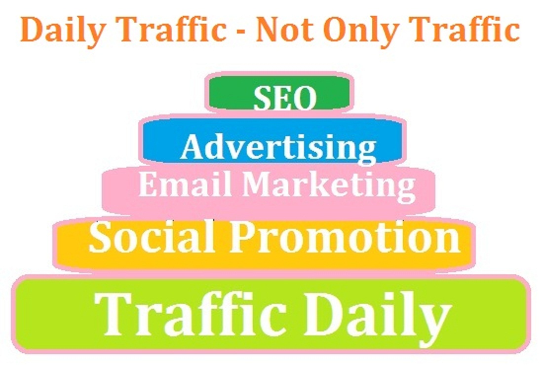 Unlimited Traffic From Social Media with SEO Advertising and Marketing work 30 days for you