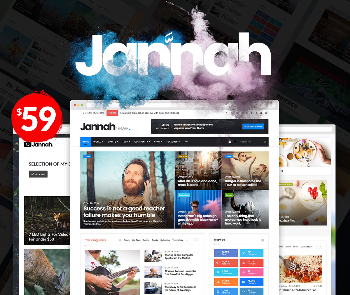 Install Premium Jannah (Newspaper Style) Theme on your wordpress