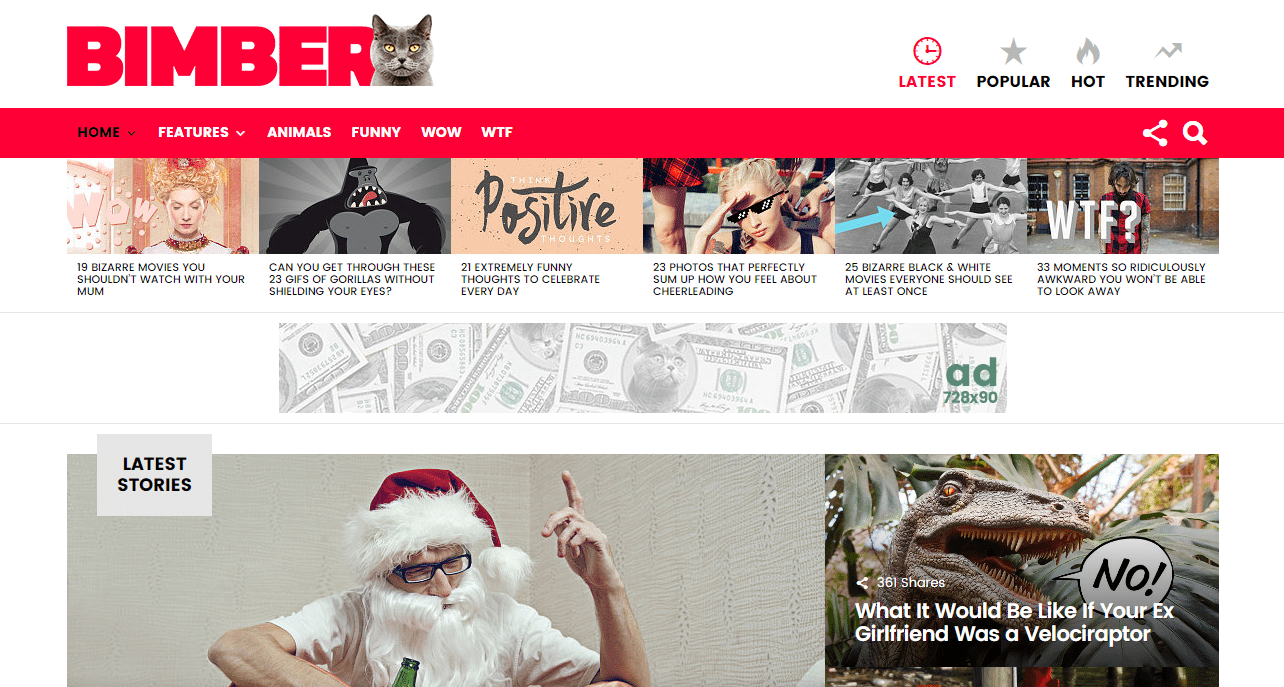 Install Premium Viral Magazine theme Bimber on your wordpress