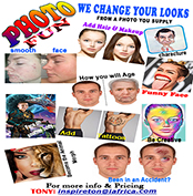 We Will Beautify Your Image Or Change Your Appearance