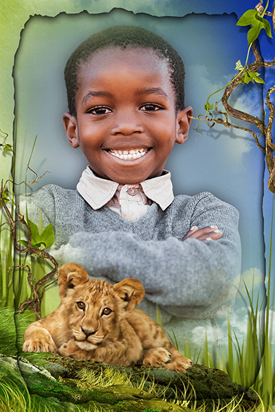 We Put An Image You Supply Of You Or Your Children In a fantastic Frame