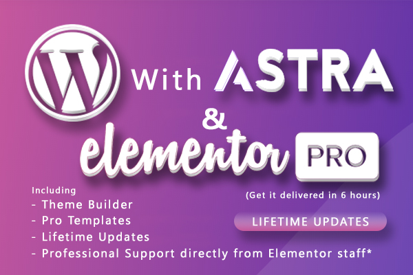 Elementor Pro with JetElements/CrocoBlock and Astra Pro (Lifetime Updates)
