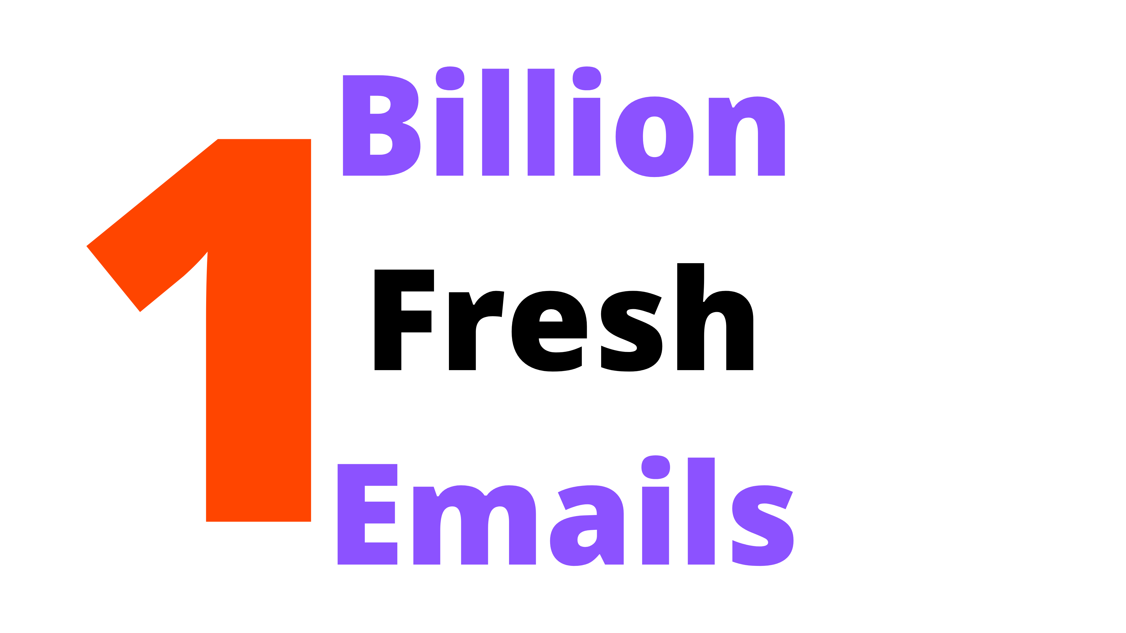1 Billion Worldwide Fresh Email List database
