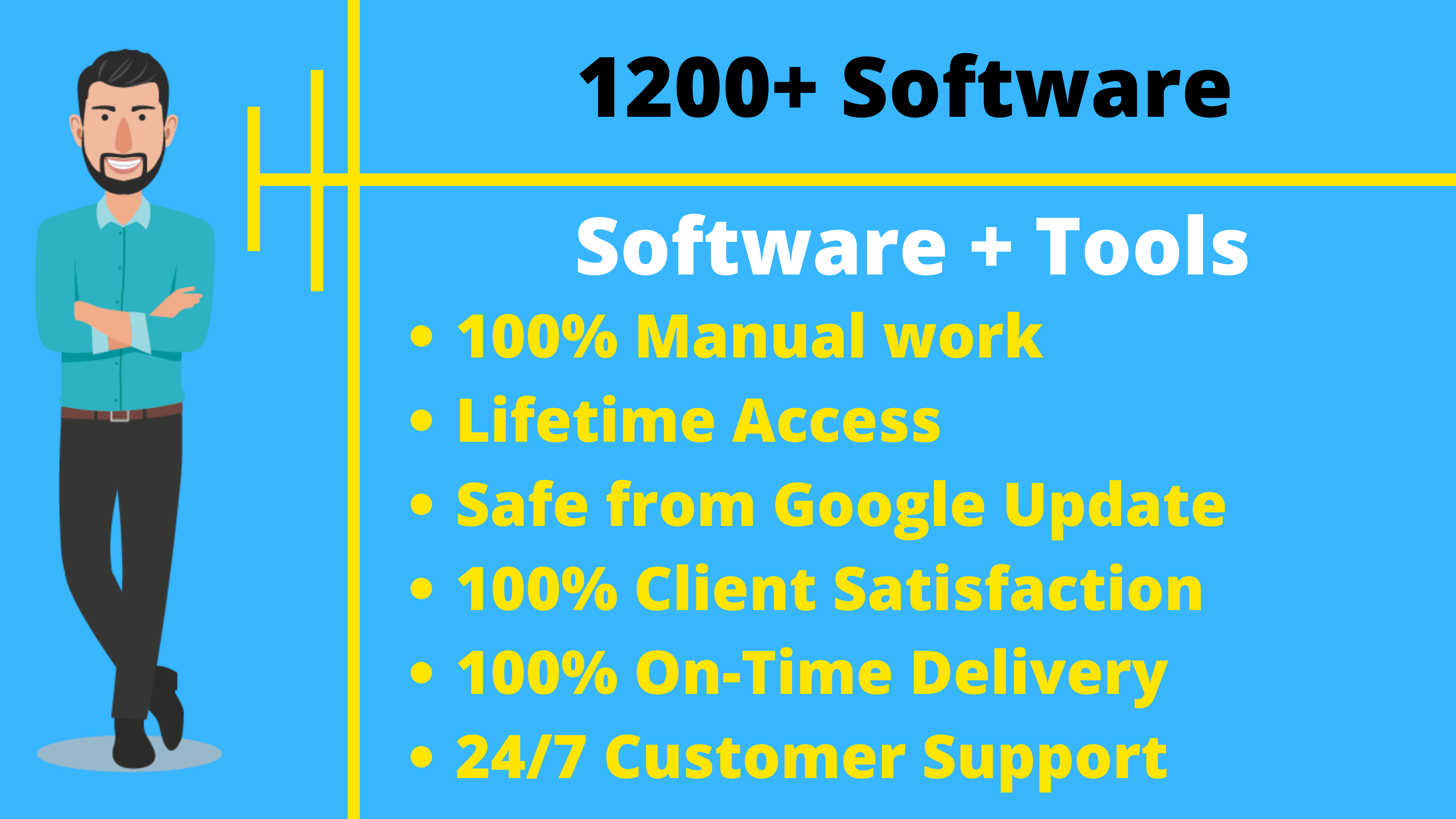 1200+ Softwares And Tools For SEO Traffic And Marketing