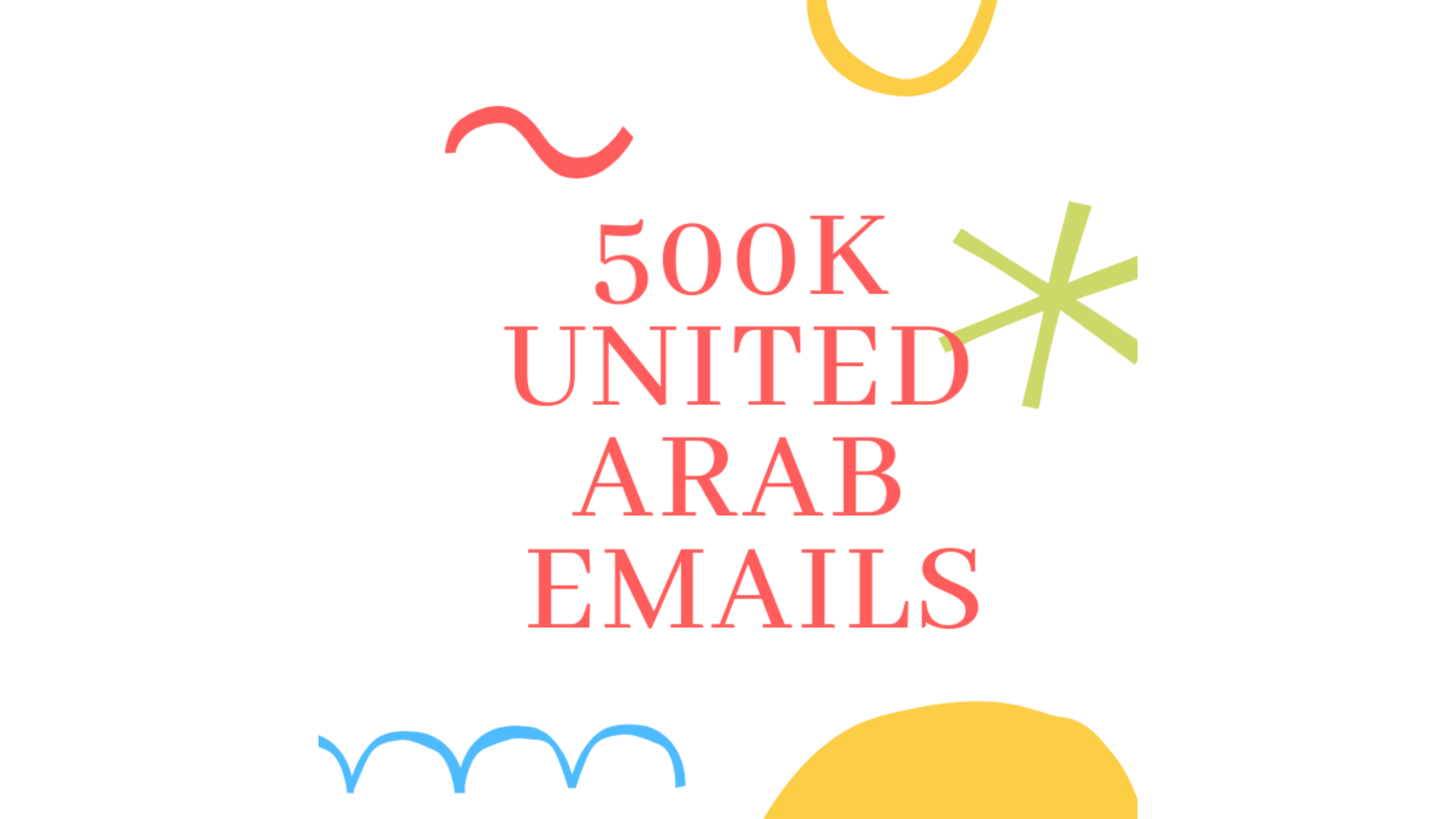 500K+ United Arab Email Database List For Your Business