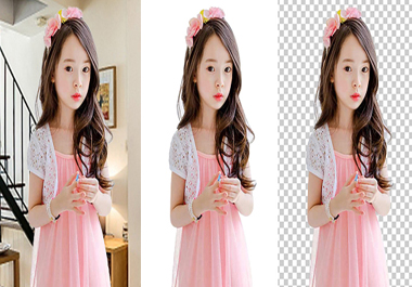 i will do any 15 Photo background removal or change