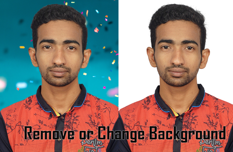 Remove or change background for your pictures