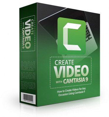 Learn How To Create Videos For Any Occasion Using Camtasia 9 - Video Course