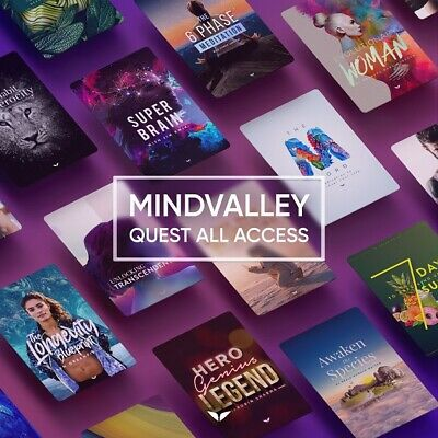 Mindvalley &ndash Quest All Access Pass Membership Courses Value 595.00