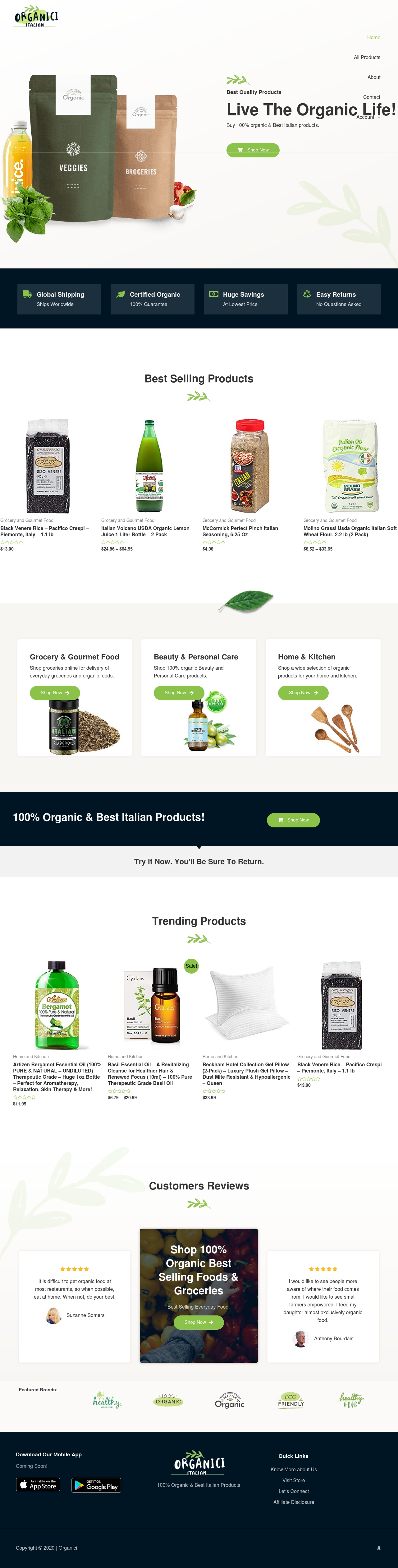 Own A Highly Profitable Niche Amazon Affiliate Store With 50 Products