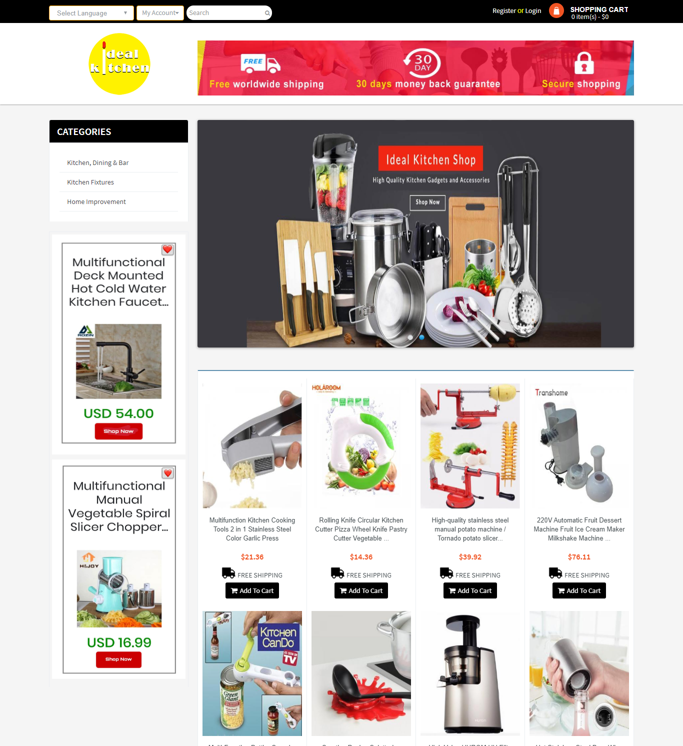 Fully Automated Dropshipping Website With 8000 Products - Ready To Earn