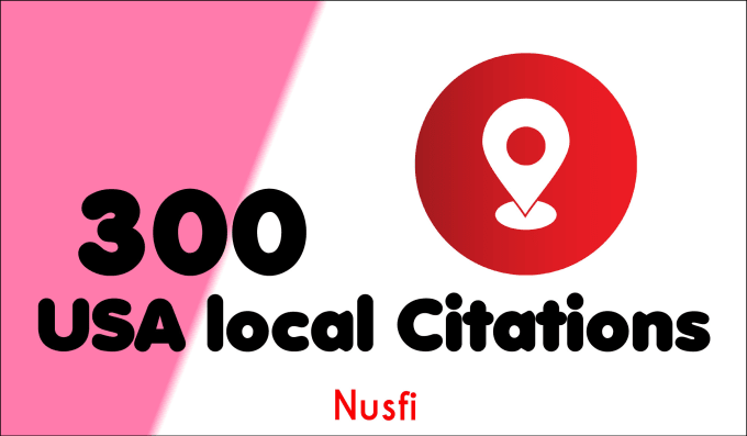 300 live USA local citations and business listings for local seo and Link buidling