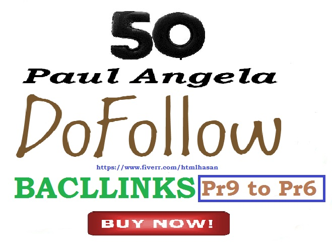 I will Do 50 Do Follow Permanent & High Authority trusted profile backlink manually