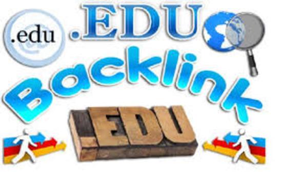 I WILL create 70 .edu backlinks for improved seo ranking website