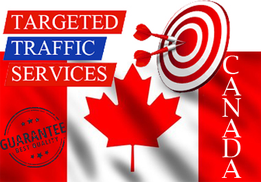 CANADA 7,000+ Real Human WEB TRAFFIC Visitors for your Website/Blogs/Facebook or any other Links