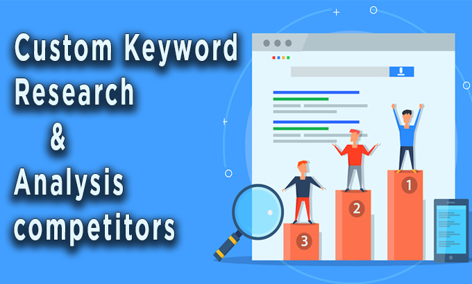 Run in depth keyword research & competitors analysis