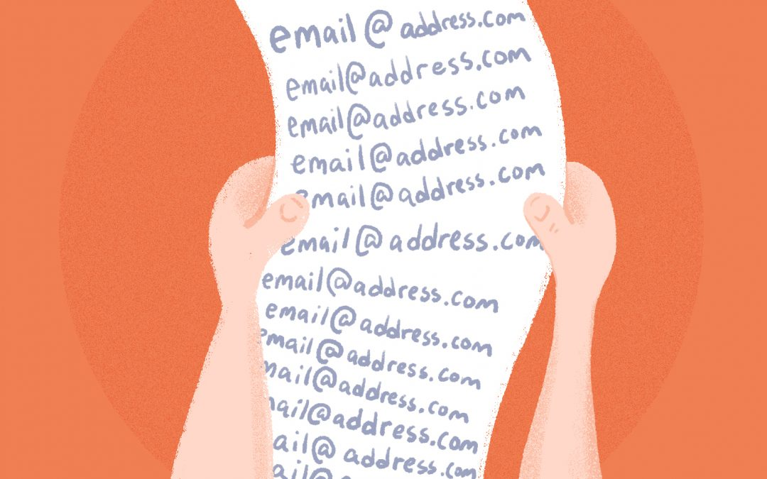 Collect your Targeted niche 1k email lists for email marketing campaigns