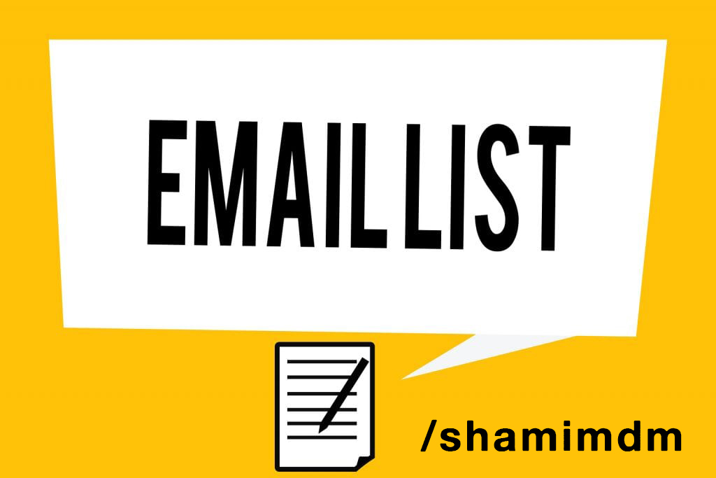 Create an email lead list for any business niche or profession