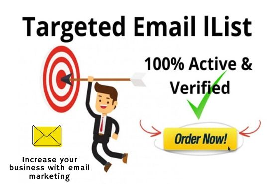 collect 1k niche targeted genuine and active email list for your business marketing