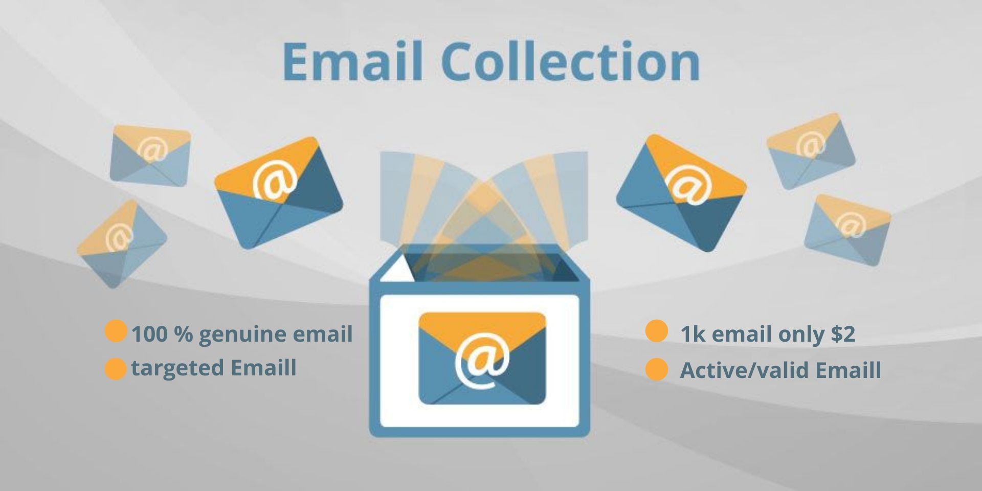 I will provide 1k targeted email list for your business
