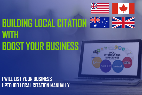 I will manually add your business in top 20 local citations